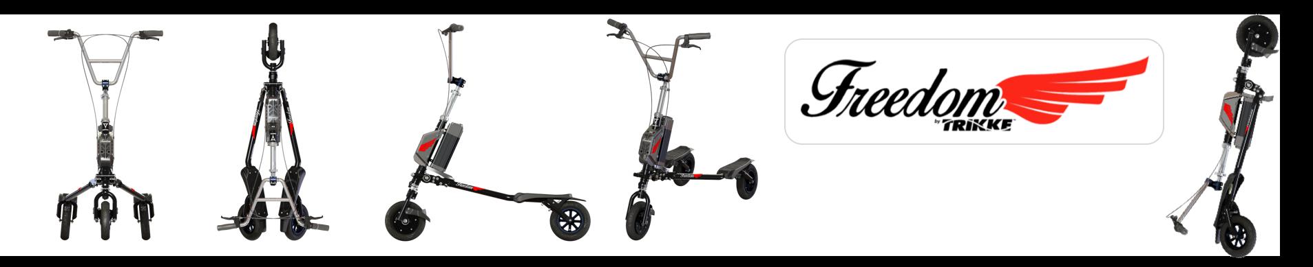 Der neue TRIKKE Freedom  Elektroscooter
