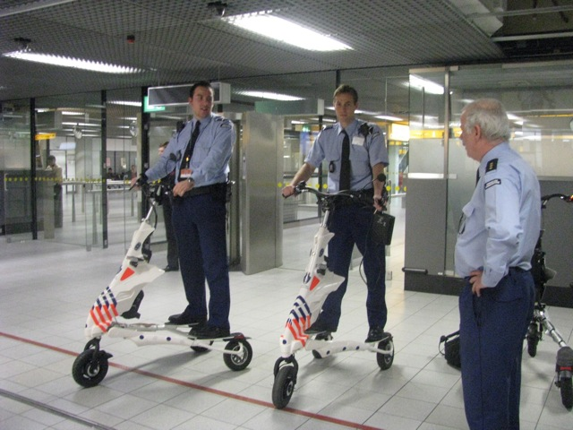 Die elektrischen TRIKKE Security Vehicle